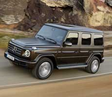 Mercedes-Benz Unveils All-New Bricktastic G-Class SUV With Redesigned Suspension, Sumptuous Interior