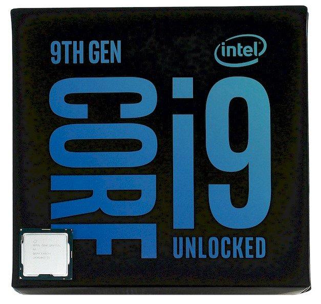 core i9 9900k box