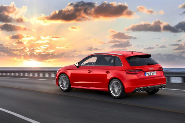 Audi S3 Sportback 2013 Rear