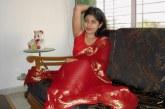 Suhagraat ki red saree me sex photo