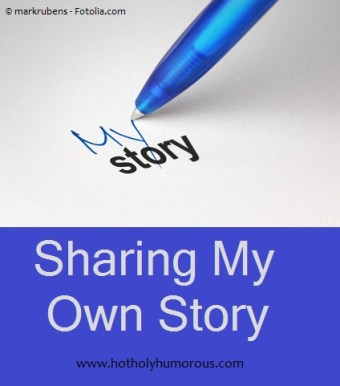 "Pen writing ""My Story"" on paper"