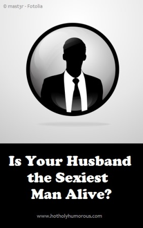 Male silhouette with blog post title