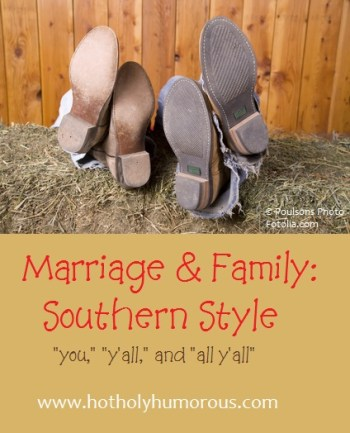 A couple with their feet side by side on a hay stack + blog post title