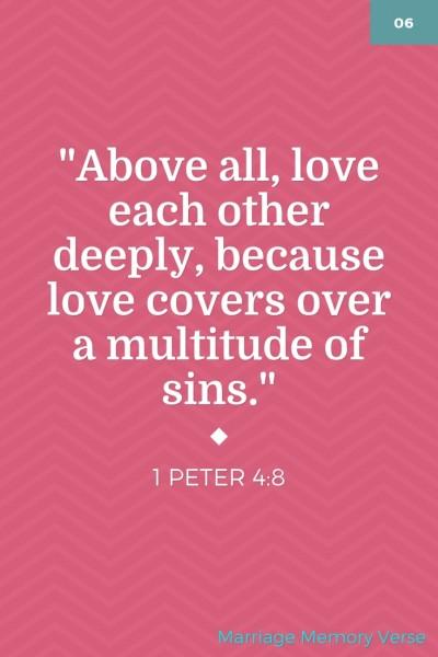 Marriage Memory Verse 2-13-16