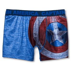 Capt America Boxer Briefs
