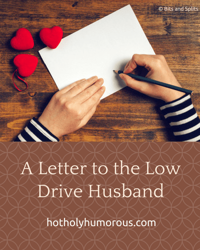 Blog post title + woman's hands writing a letter