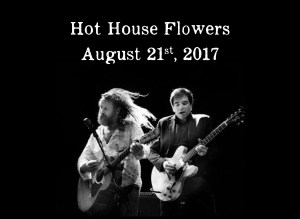 Photo of Liam and Fiachna for Hothouse Flowers @ Glebe Gradens Co. Cork