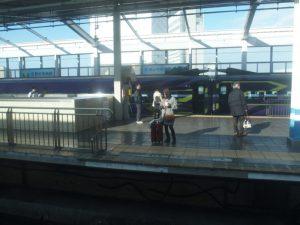 エヴァンゲリオン新幹線 新倉敷