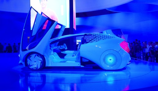東京モーターショー2017トヨタ車をレポ!コンセプトカーやVR体験は?