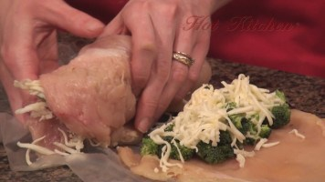 Hot Kitchen Paprika Chicken with Trees and Cheese Recipe Demonstration