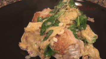 Hot Kitchen Artichoke Chicken Recipe Demonstration