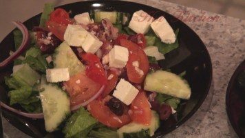 Hot Kitchen Greek Salad Recipe Demonstration