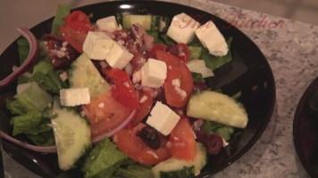 Hot Kitchen Greek Salad Recipe Demonstration