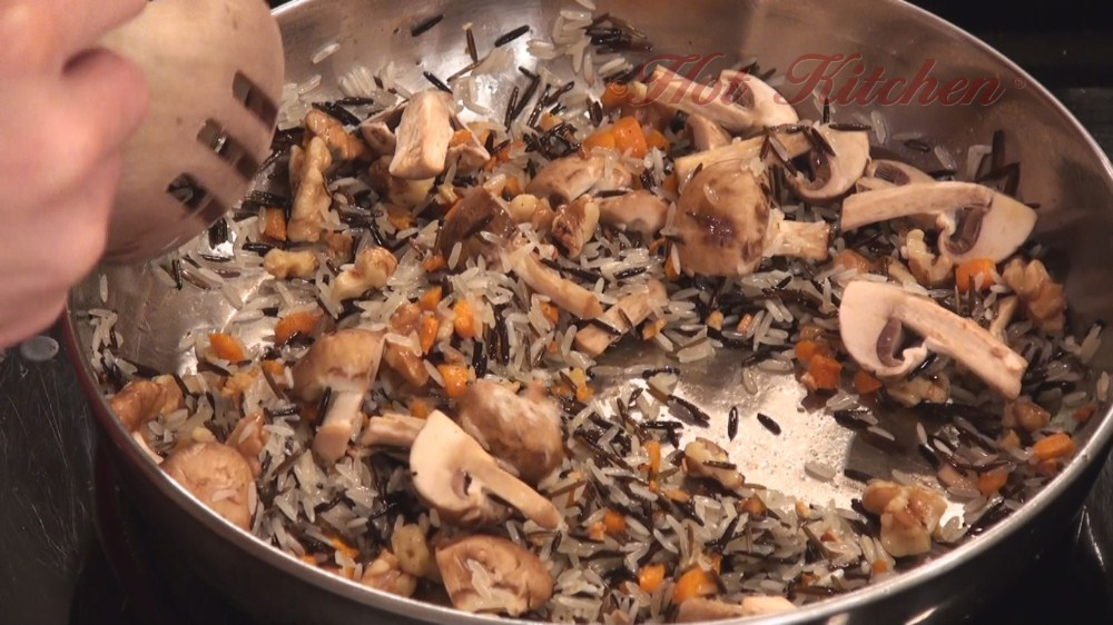 Hot Kitchen Wild Rice Pilaf Recipe Demonstration