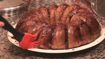 Hot Kitchen Caramelized Banana Cake Recipe Demonstration