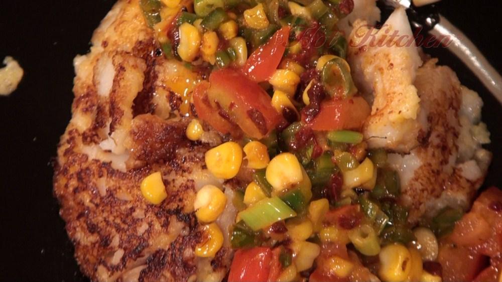 Hot Kitchen Tex Mex Fish Recipe Demonstration