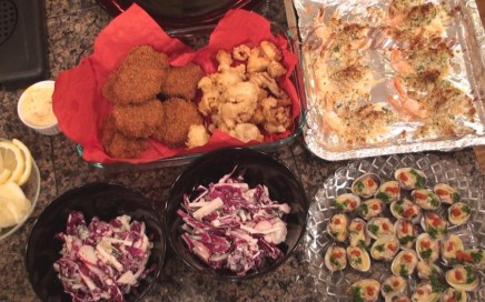 Hot Kitchen Artisan Admiral's Platter Recipe Demonstration