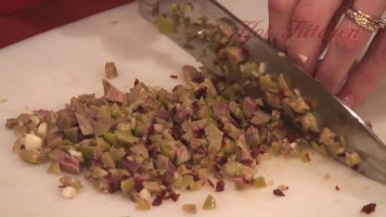 Hot Kitchen - Tapenade Triangles Recipe Demonstration