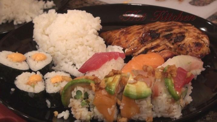 Hot Kitchen Sushi and Bento Recipe Demonstration