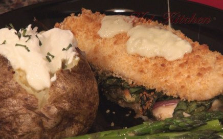 Hot Kitchen Chicken Cordon Bleu Recipe Demonstration