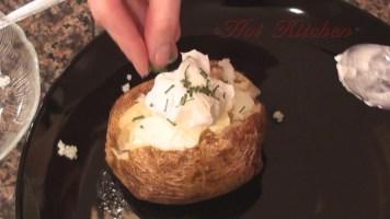Hot Kitchen Baked Potato Recipe Demonstration