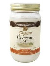 hot kitchen uses spectrum expeller pressed organic coconut oil