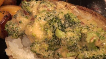 Hot Kitchen Broccoli Cheddar Baked Potato Recipe Demonstration