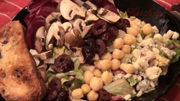 Hot Kitchen Creamy Garlic Chop Salad Recipe Demonstration