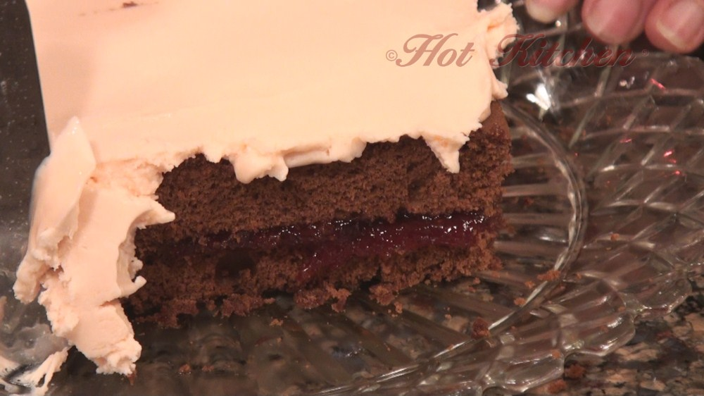 Hot Kitchen Double Chocolate Pave Recipe Demonstration