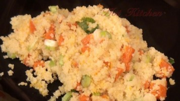 Hot Kitchen Orange Spice Cous Cous Recipe Demonstration