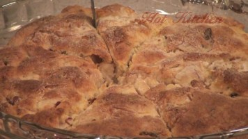 Hot Kitchen Savory Apple Rosemary and Caramelized Onion Scones Recipe Demonstration