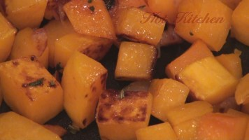 Hot Kitchen Balsamic Glazed Squash and Mushrooms Recipe Demonstration