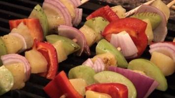 Hot Kitchen Rainbow Skewers Recipe Demonstration