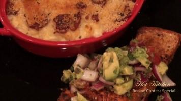 Hot Kitchen - Roasted Salmon, Avocado Salsa, Bacon Panko Macaroni and Cheese, Chocolate Souffle Recipe Demonstration