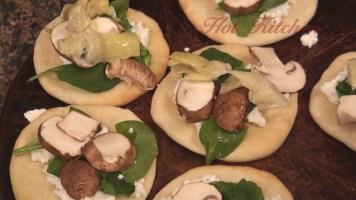 Hot Kitchen Mini Pizzas Recipe Demonstration
