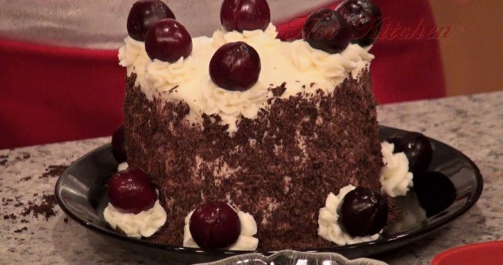 Hot Kitchen Black Forest Tower Recipe Demonstration