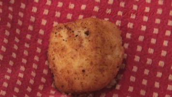 Hot Kitchen Roasted Garlic Polenta Croquettes, Recipe Demonstration