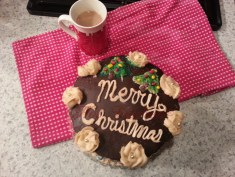 Epic Caramel Mocha Cake Recipe - Cafe Latte Frosting Recipe, Caramel Recipe Filling, Chocolate Cake Recipe, Chocolate Ganache Recipe Finish