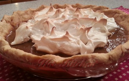 Butterscotch pie recipe