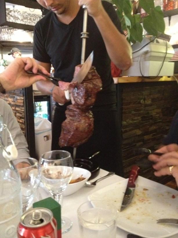 Marinated pork