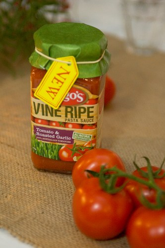 Leggo's Vine Ripe Pasta Sauce available in 3 varieties