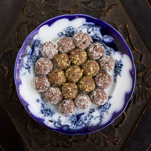 Rolled in coconut or crushed walnuts