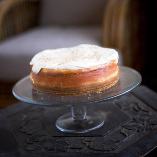 Mum's Baked Cheesecake