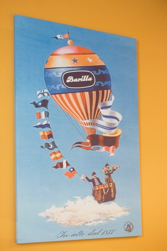 Vintage posters made for the Barilla company