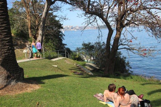 Prized public land starting to fill with picnickers