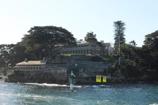 Kirribilli House - the Prime Minister's Sydney residence