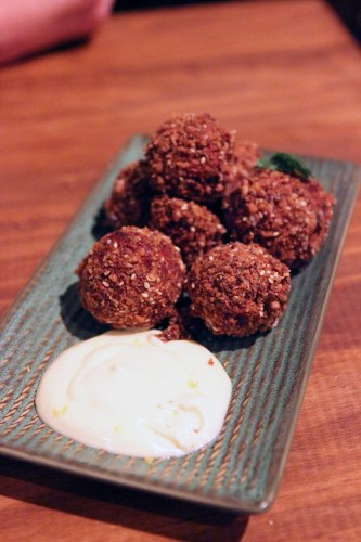 Dukkah coated beetroot