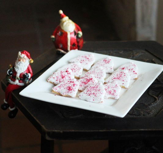 A plate of Christmas Bells