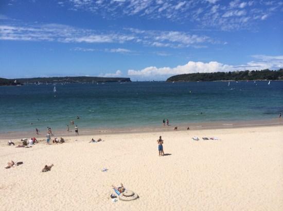 Autumn in Sydney at Balmoral Beach