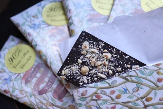 Coco Chocolate 90% Hazelnut and Sea Salt